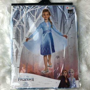 NEW Disney Frozen 2 Elsa Costume dress 4-6x